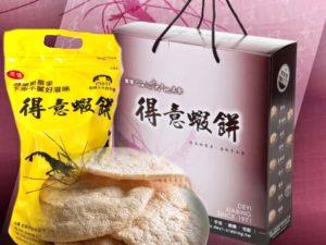 非油炸蝦爆餅禮盒(大包5入)